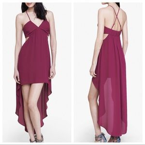 Express • Magenta High-low Dress